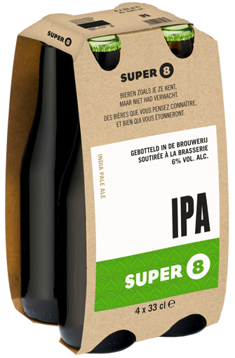 Afbeeldingen van SUPER 8 IPA 4X33CL
