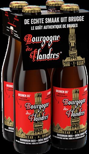 Afbeeldingen van BOURGOGNE DES FLANDRES BRUIN 4X33CL